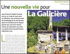 Une nouvelle vie pour la Galicière