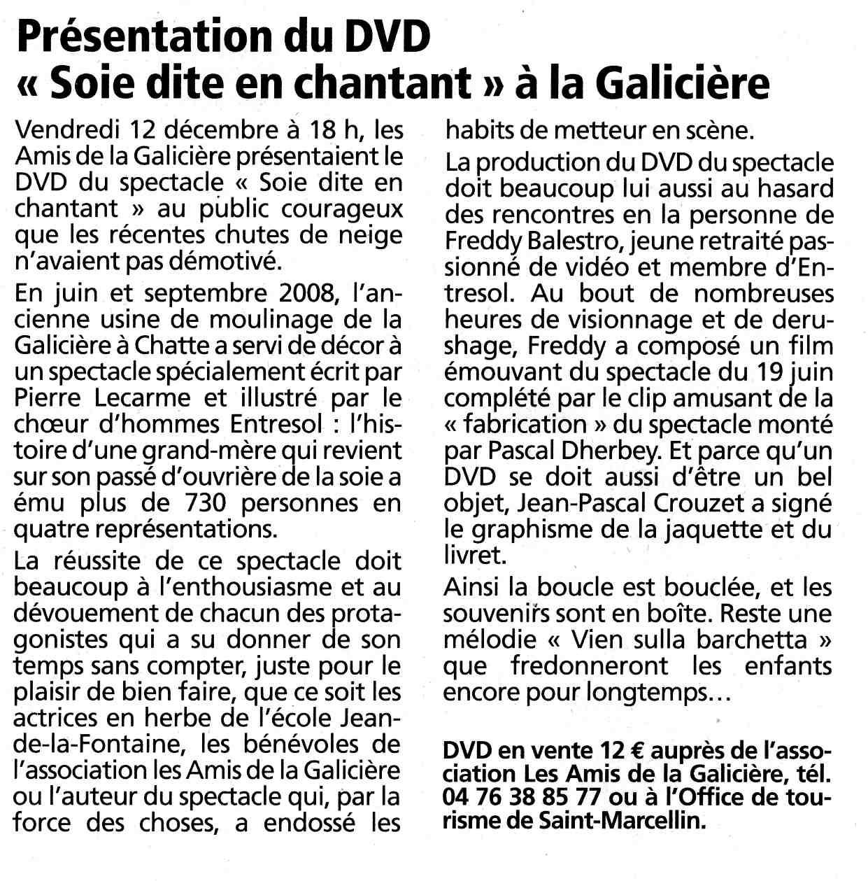 DVD SoieDite