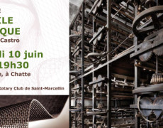 Visite-conférence-repas Rotary Club de Saint-Marcellin