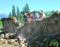 2012 Préparatif mur