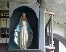 Une vierge pour l'oratoire de la Fabrique Haute